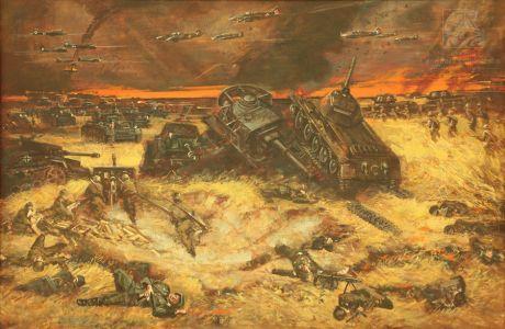 Мокрушин В.А. Курская битва. 1943 год