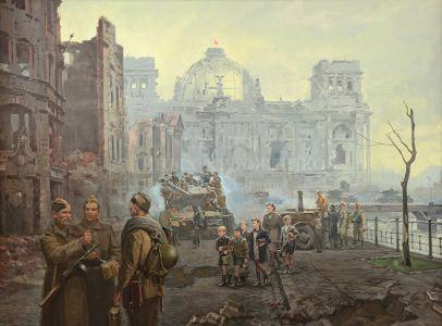 Ананьев А.М. Берлин. Май 1945