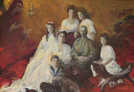 Данилевский Е.И. Царская семья