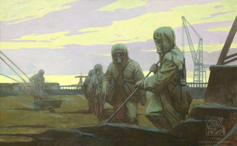 Минеева П.В.Войска РХБЗ на Чернобыльской АЭС