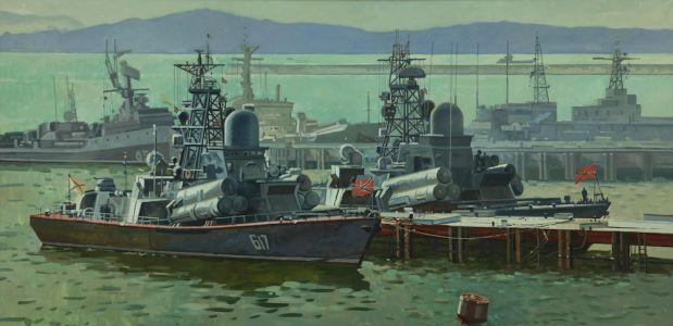 Евстигнеев А.В. Цемесская бухта.