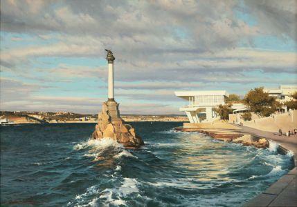Сытов А.К. Памятник погибшим кораблям в Севастополе
