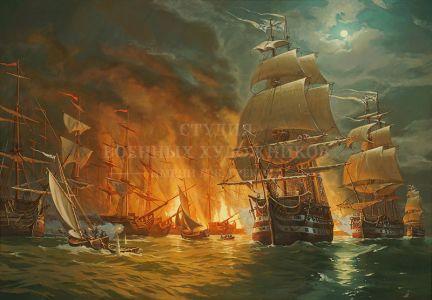 Ананьев А.М. Чесменское сражение