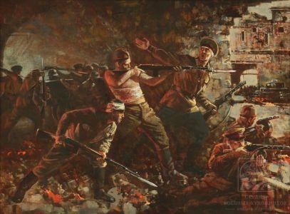 Мокрушин В.А. Брестская крепость ведёт бой