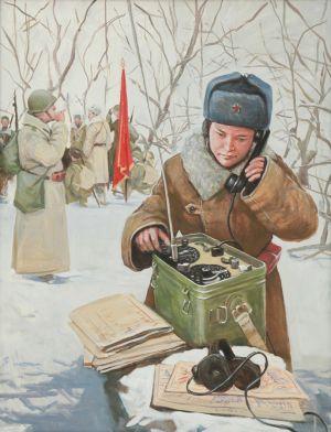 Смирнов Е.А. Передача разведданных партизанами