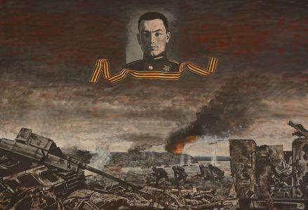Коротков Н.Н. Герой Советского Союза, полковник Гадельшин Хамит Габдулович. Огонь на меня! Весь огонь на меня!