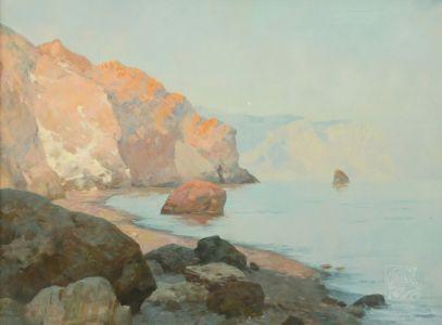 Лебедев И.М. Теплое море