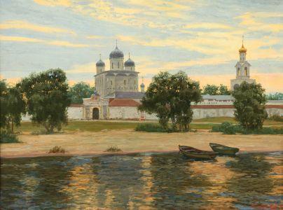 Сибирский А.В. Юрьев монастырь в Великом Новгороде