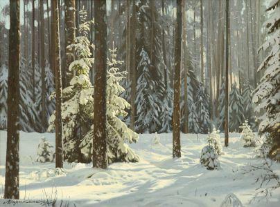 Штрикман Л.Л. Зимний лес