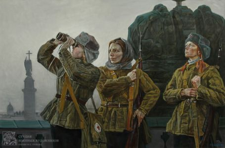 Дроздов А.Ю. На крышах Эрмитажа
