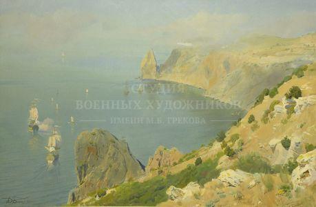 Белюкин Д.А. Учения Черноморского флота в середине XVIII века у мыса Фиолент