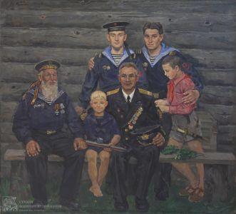 Переяславец В.И. Три поколения русских моряков