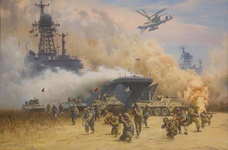 Сытов А.К. Высадка морского десанта