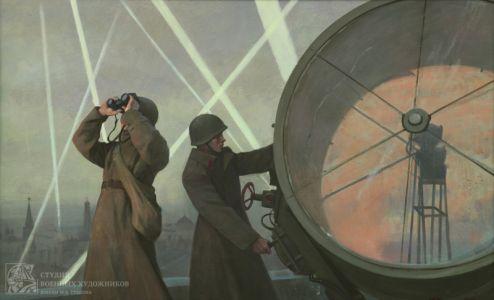 Камынина Е.В. Защитники неба Москвы от налётов немецкой авиации