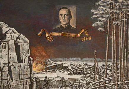 Коротков Н.Н. Герой Советского Союза, полковник Самсонов Владимир Андреевич