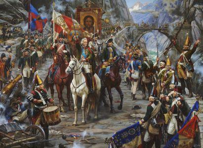 Корнеев Е.А. Альпийский марш