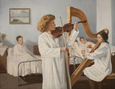 Смирнов Е.А. Концерт в госпитале
