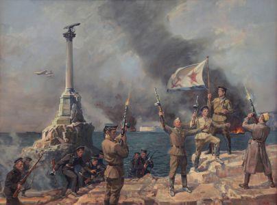 Ананьев А.М. Освобождение Севастополя 9 мая 1944 год