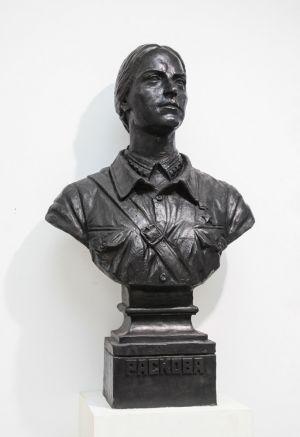 Клавсуц Д.В. Портрет М.М. Расковой